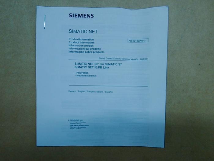Kommunikationsprozessor SIEMENS SIMATIC NET  6GK7343-1EX11-0XE0