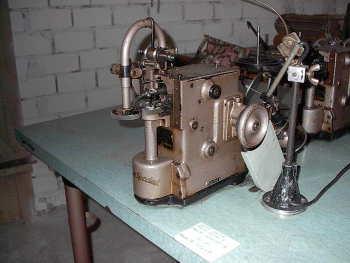 Gebraucht Regulär-Tellertransportmaschine UNION-SPEZIAL  KL. 41200 B