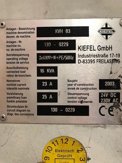 2003 Kiefel KVH 83