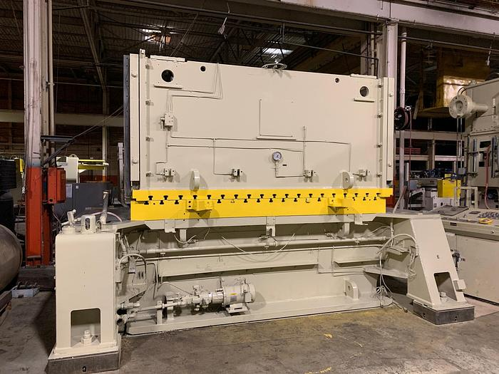 "600 ton Verson 120""x60"" Stamping Press"