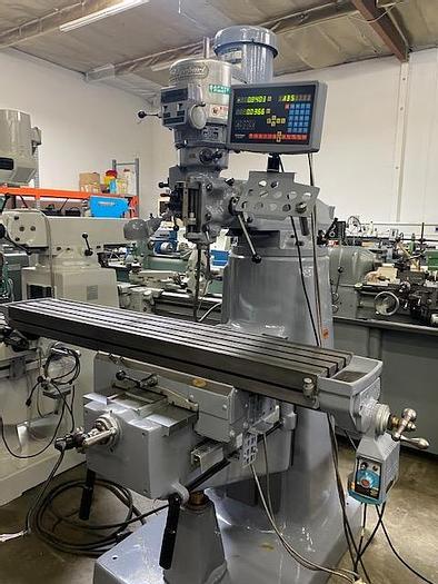 "Used Bridgeport Series II Special Milling Machine 11"" x 58"" Table #5957"