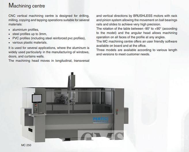 Pertici Machining Center Model 250