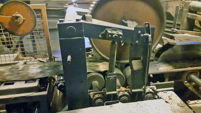 1974 ARI Sweden Complete sawline ARI with 2 sas KL10 and KL12 and edger