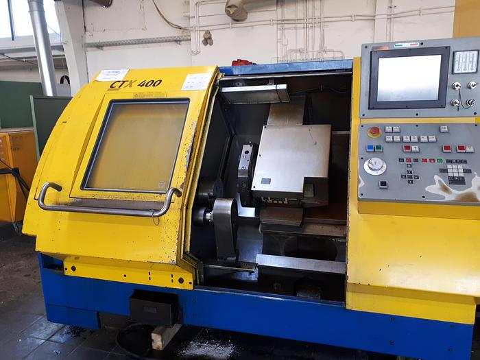 Gebraucht 1999 Gildemeister CTX400 CNC Schrägbettdrehmaschine