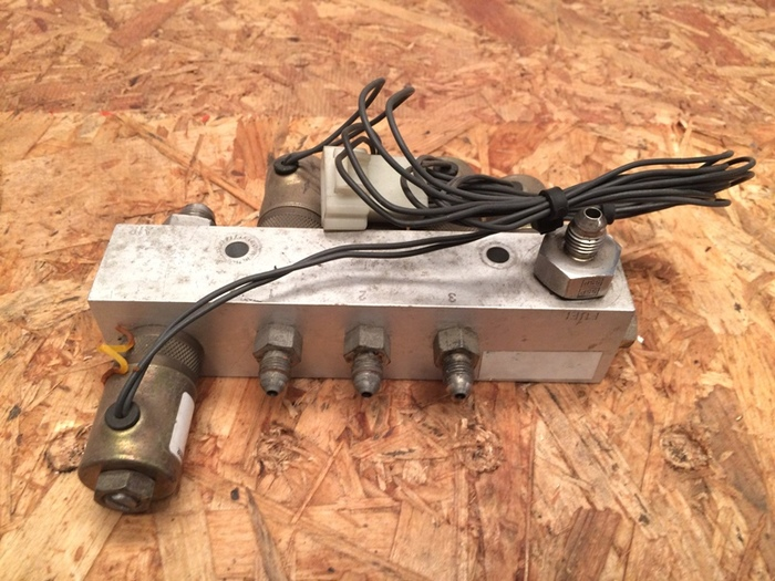 Used Capstone Turbine Diesel Fuel Manifold for C30 Microturbine