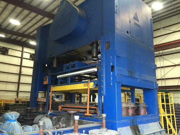 "500 ton Clearing 186""x108"" Blanking Press"