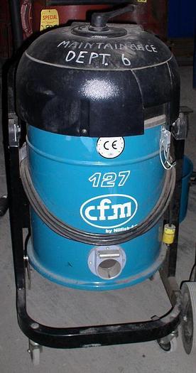 Used Nilfisk Model CFM 127A Industrial Vacuum Cleaner