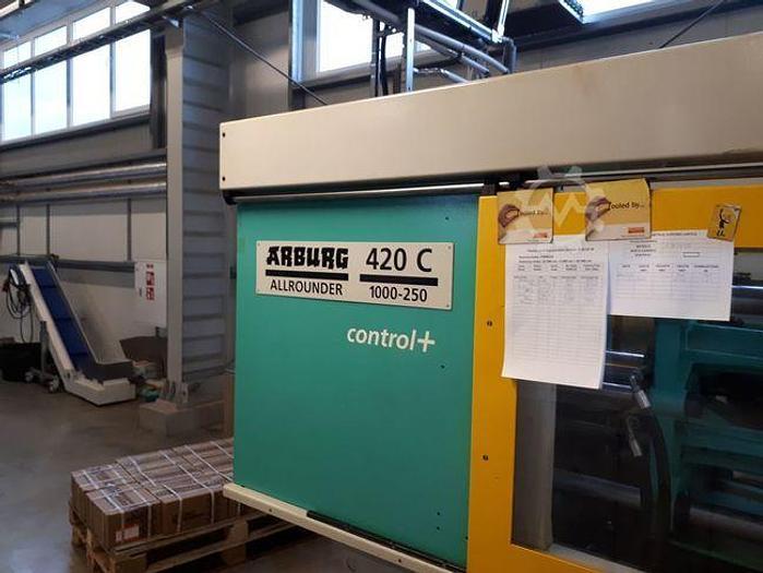 Gebraucht 2004 Arburg 420C 1000-250 Selogica
