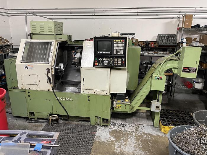 Used Okuma   LNC8 CNC Lathe