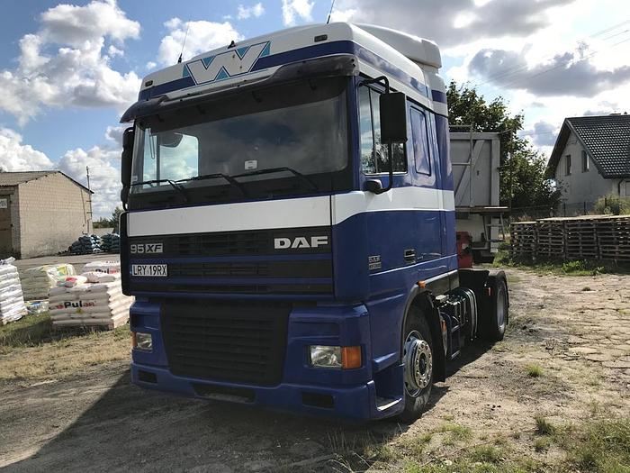 2002 DAF 95 xf 380 euro 3 manual