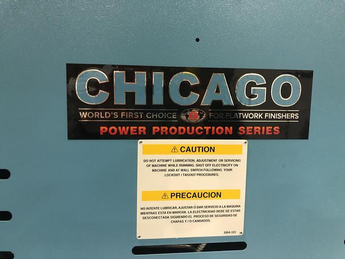 2018 CHICAGO LASER 24X136 GAS IRONER