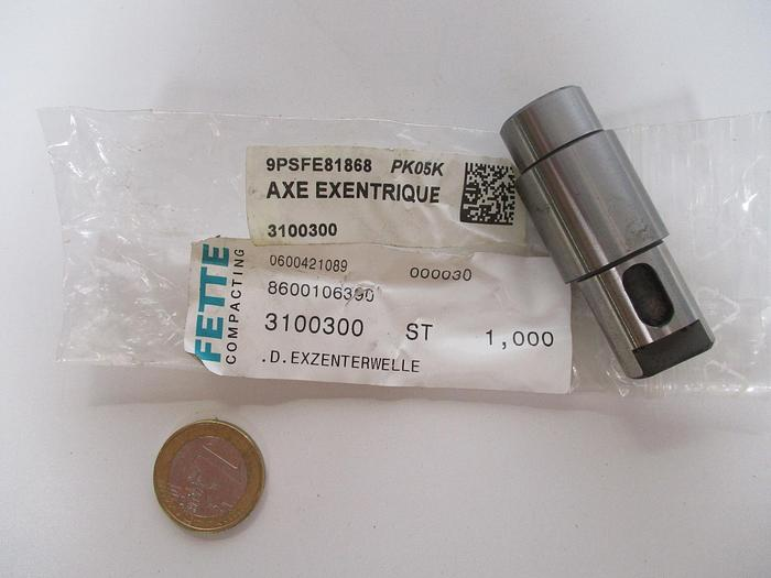 Used FETTE Axe excentrique