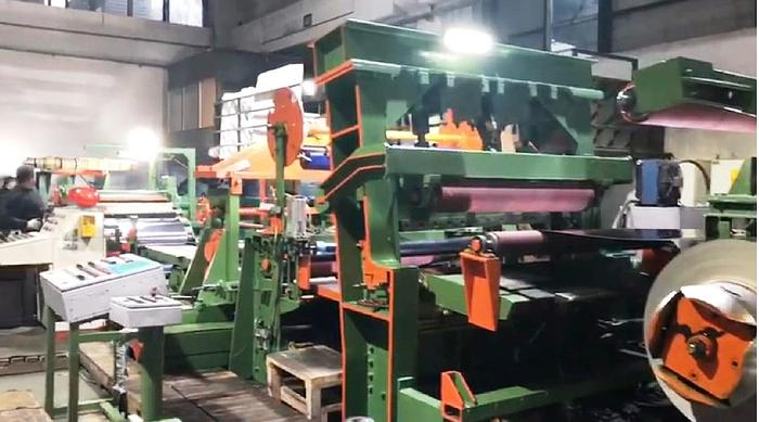 Used 1350mm SACMA Stainless Steel Slitting Line: S-300