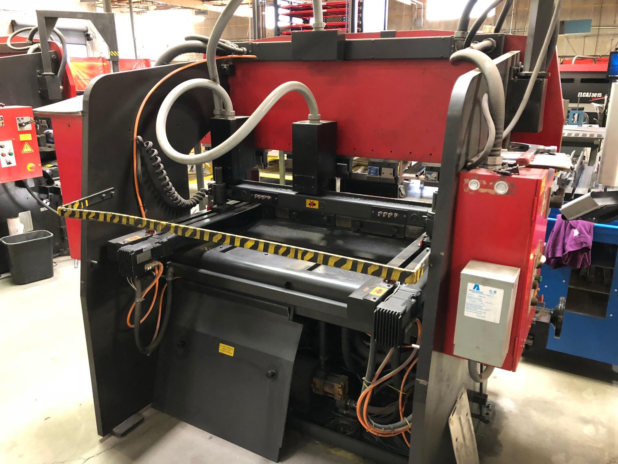 1997 55 Ton Amada RG-50 CNC Press Brake