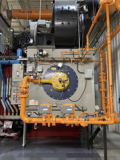 Used LINCOLN NS-E-59 BOILER, W/ 350 PSIG MAX ALLOWABLE WORKING PRESSURE, 70,000