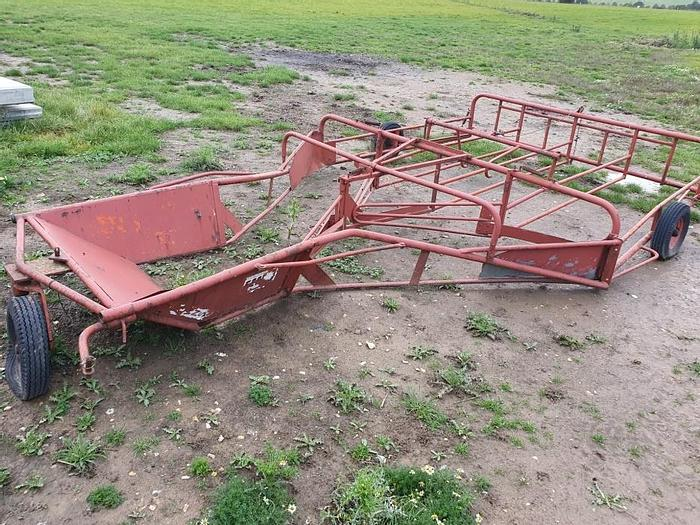 Used Browns Flat 8 Bale Sledge