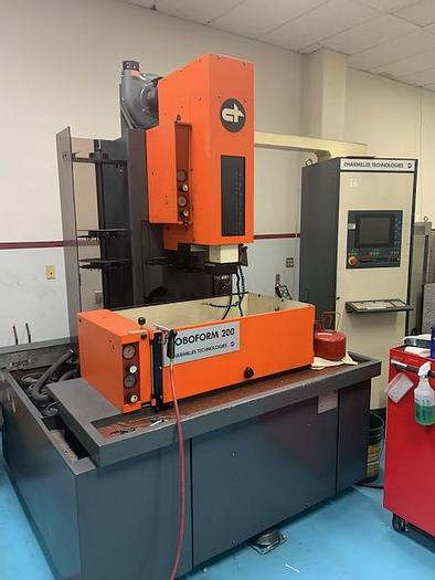 Used Charmilles Model Robofil 200 5 Axis Wire EDM #5777