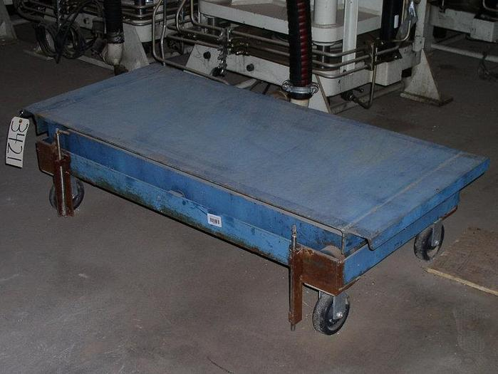 Used Scissor Lift Table; Without Cart