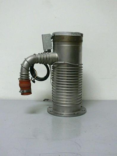 """Used Unbranded Diffusion Pump w/ 11"""" Flange Fitting"""