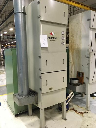 Used Absolent ODF-2000 Oil Mist Collector