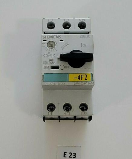 Used *PREOWNED* Siemens 3RV1021-1JA10 3P 130A Manual Motor Starter + Warranty!