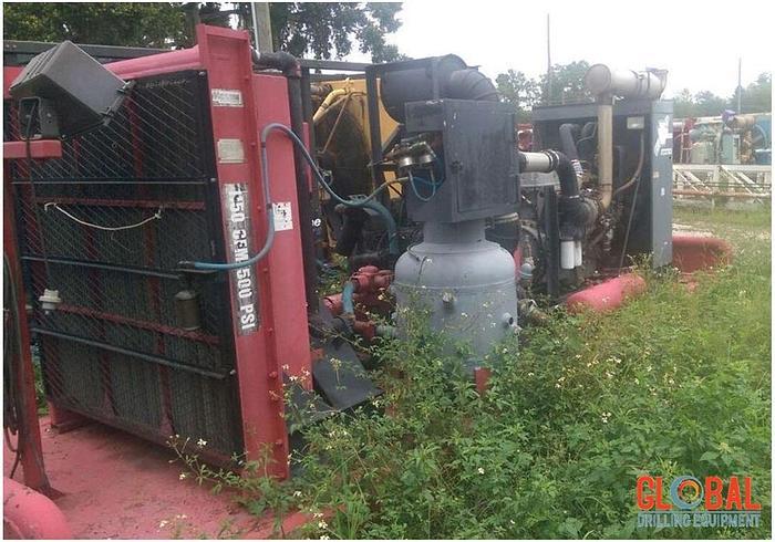 Used Item 0584 : 2002 Sullair 1350CFM/500PSI Air Compressor