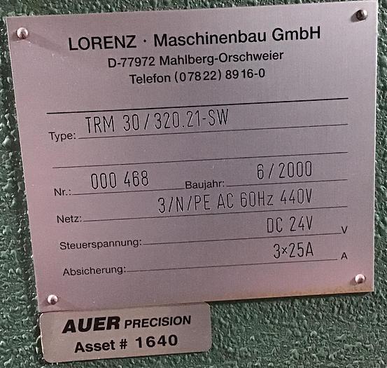 "Lorenz Precision Leveler 320mm/12"" x 5mm/.196"