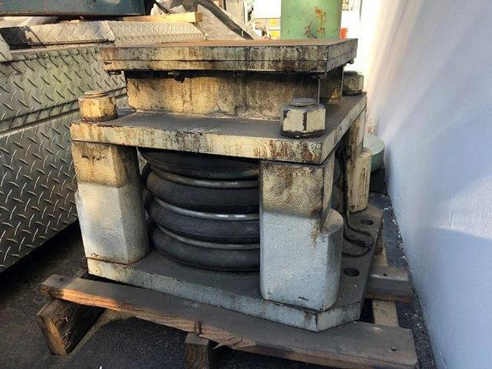 "Used AIR CUSHION FOR PUNCH PRESS, JAPANESE MAKE, No. DA-354, 22"" X 17"" X 16 1/4""   Our stock number: 4942"