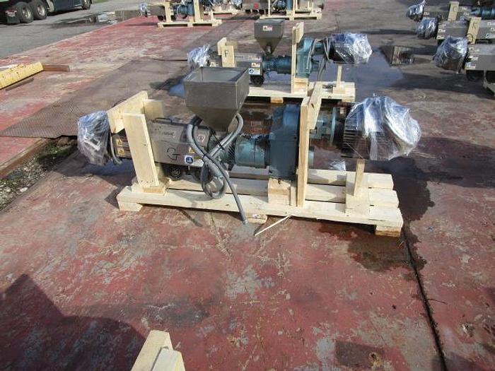 "Used 1 1/4"" Davis Standard Extruder 7.5 hp stock # 4756-028B"