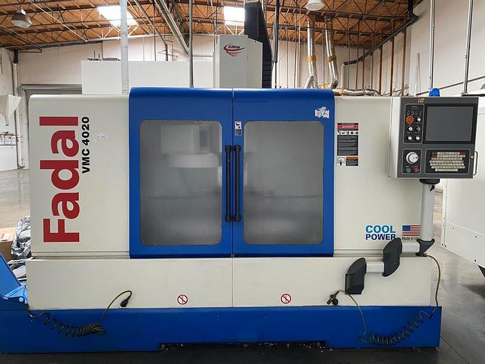 Used 2006 Fadal VMC-4020HT CNC Vertical Machining Center