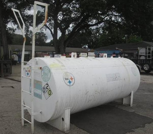 1,000 Gallon Double Wall Fireguard Diesel Fuel Tank