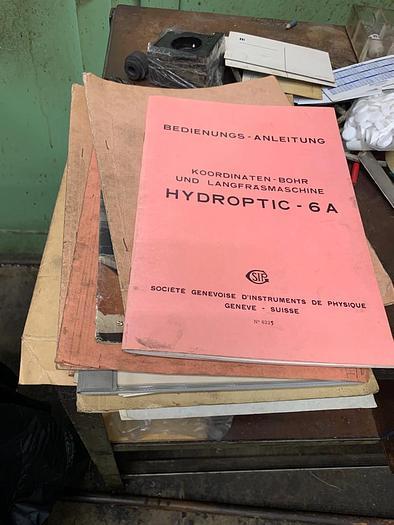SIP Hydroptic - 6A Jig Boring Machine