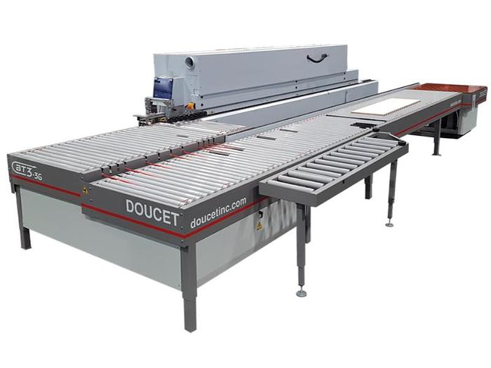 Doucet BT3 Return Conveyor