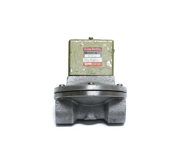 Used Niscon Nihon Seiki BN-1321-10 Flow Switch 0.3~5kg AC250V 5A (5170)