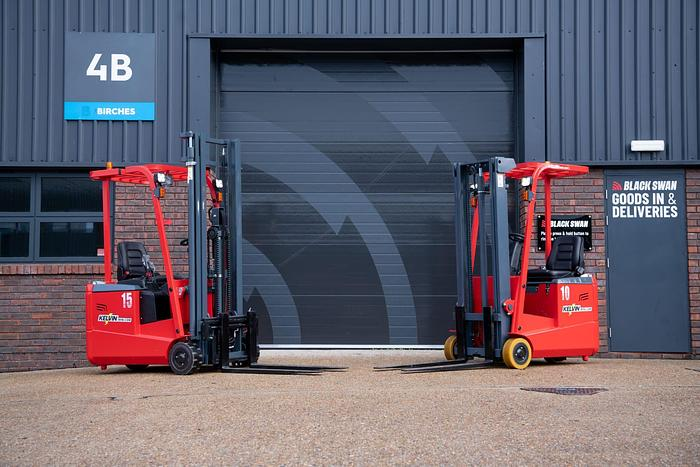 Used New Electric forklift truck