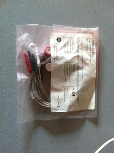 Neu! EKG Bleidraht GE Leadwire Set 5 Lead 8500/SEER, DIN, AHA