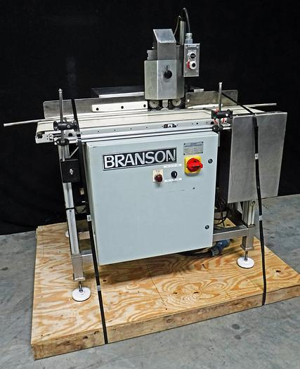 Used USED BRANSON ULTRASONICS CORPORATION PLASTIC WELDER, MODEL PPP-2
