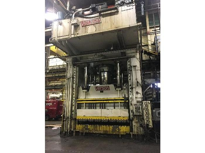 1600 ton Verson Double-Action Hydraulic Press