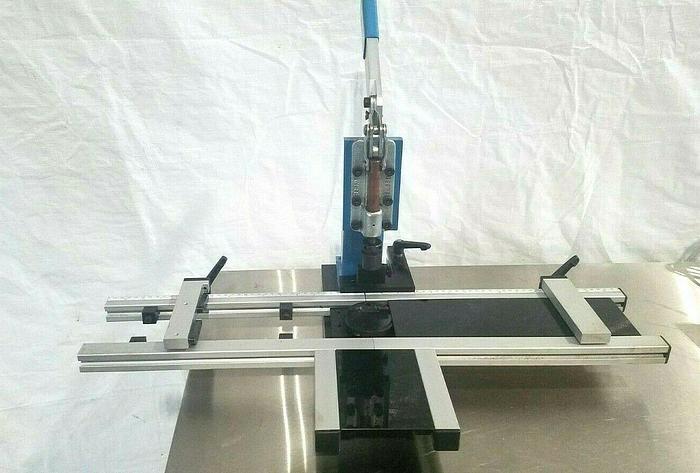 Used Craft Inc Champ III Toggle Press Multi Clamps Work Fixture PEM Inserting Press