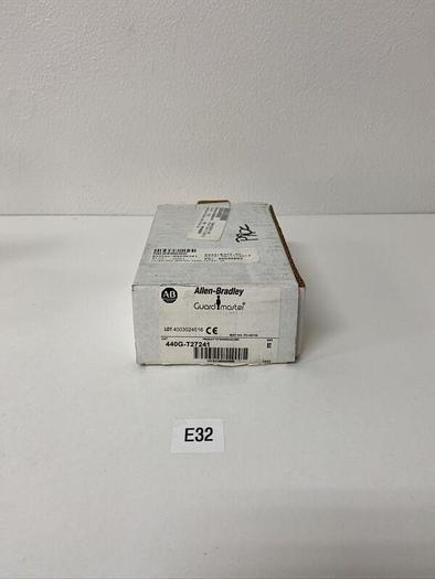 New In Box Allen Bradley 440G-T27241 Safety Interlock Switch Ser E Warranty