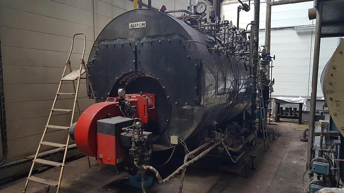 Used Steam Boiler ALSTHOM