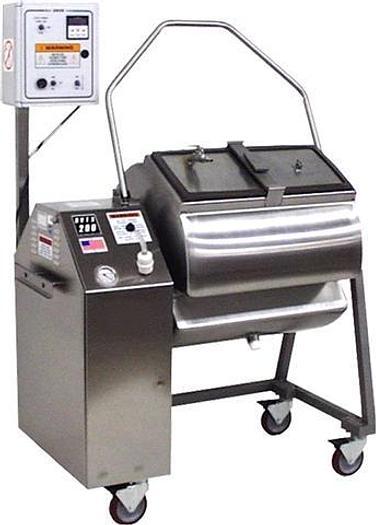 Used Daniels Food Equipment, Vacuum Tumbler, 200# capacity Md# DVTS-200 NEW
