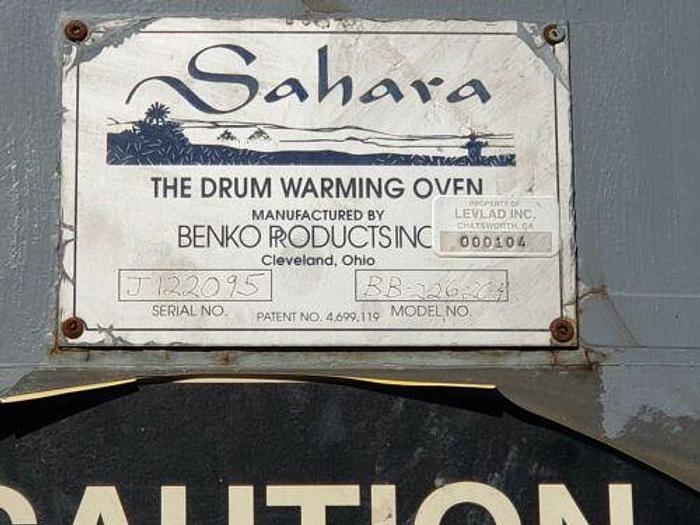 SAHARA BENKO ELECTRIC DRUM WARMING OVEN (16) 55 DRUM CAPACITY MODEL BB-226-264