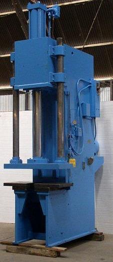 Used 50 Ton Greenerd C-Frame Hydraulic Press; 20'' x 26'' bed; 40'' Str, 48'' D.L.O; $27,500