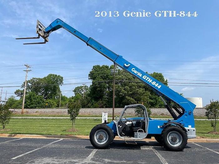 Used 2013 Genie GTH-844 Telehandler, Diesel, 4 x 4, OROPS,