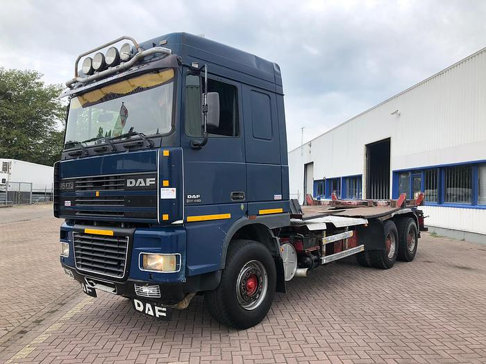 1999 DAF 95xf 480 6x4 euro 2 manual