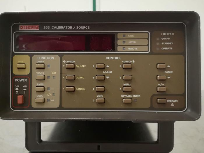 Keithley 263 CALIBRATOR/SOURCE