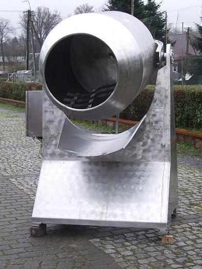 Używane Mieszalnik bębnowy z hydrauliczną regulacją kąta mieszania i wysypu produktu