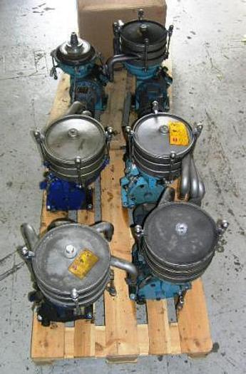 Refurbished Alfa Laval WSB 103 separator for liquid/liquid/solids separation