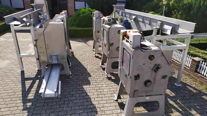 Used Linia do drylowania wiśni i czereśni - wydajność 3 t/h